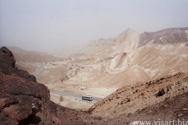 Каньоны Негева