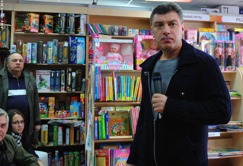 Boris Nemzov - Novosibirsk