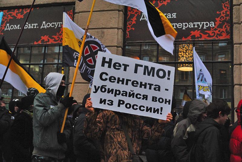 Неонацисты в Новосибирске