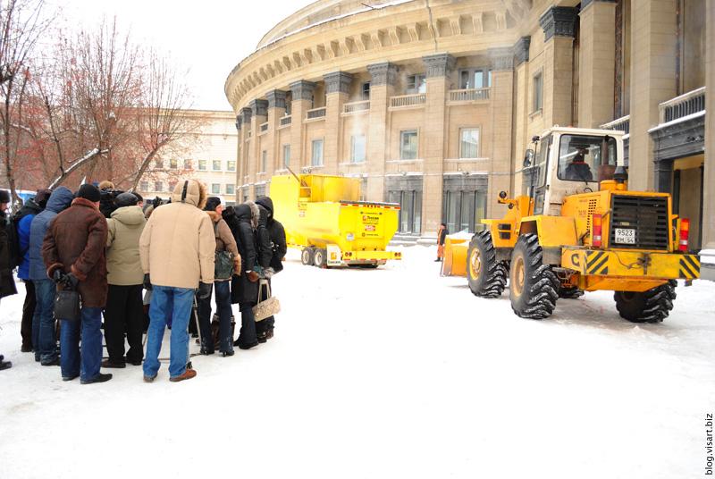 Инновация в уборке снега