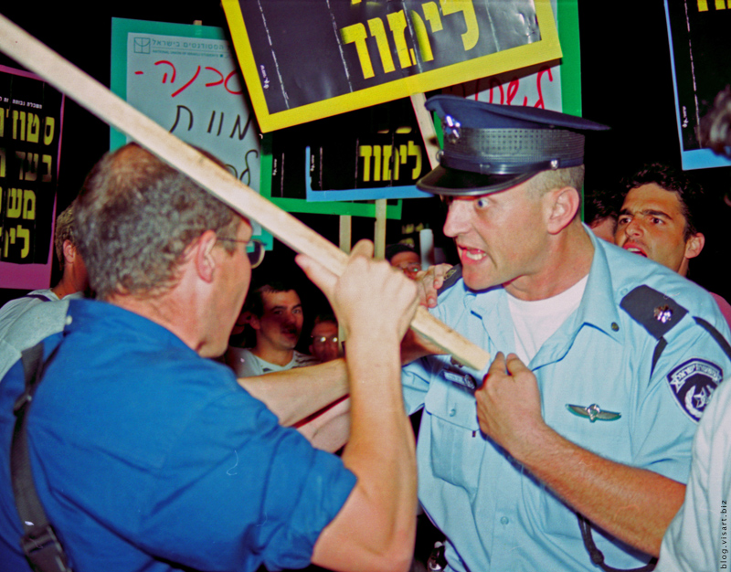 Студенческие волнения в Израиле