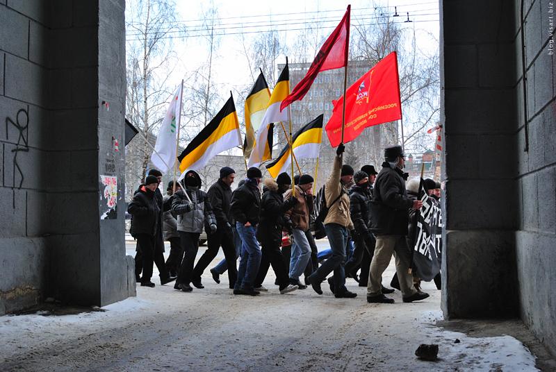 Retaree protests riots