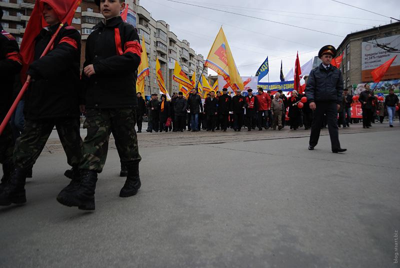 1 май в Новосибирске