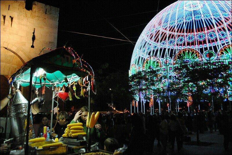 Фестиваль иерусалимских огней