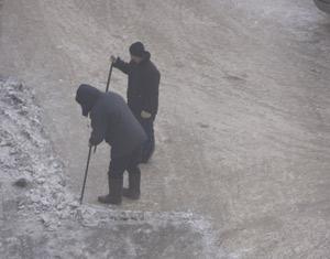 Снег и дворники