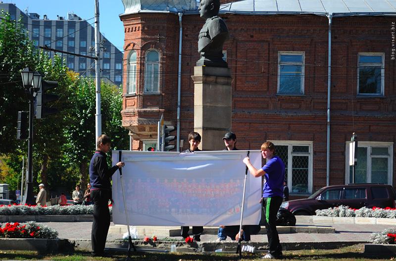 для окончательного всероссийского скандала с новосибирскими властями