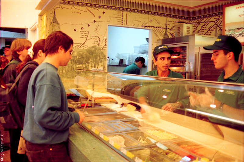 Technion 1999 – закусочные