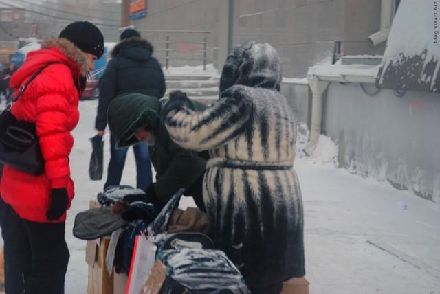Сибирский Шанхай. На улице -20
