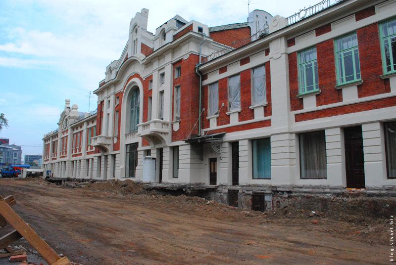 Реставрация торгового корпуса
