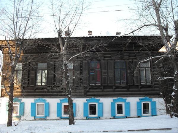 Дом,в котором жила наша семья на момент 1906 го года.